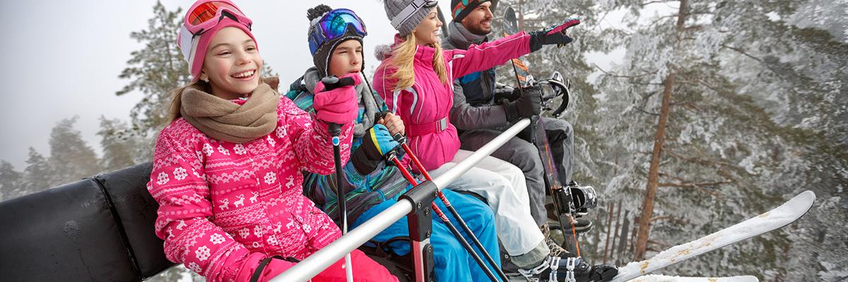 family-ski-lift